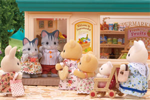 The Supermarket is Very Busy!